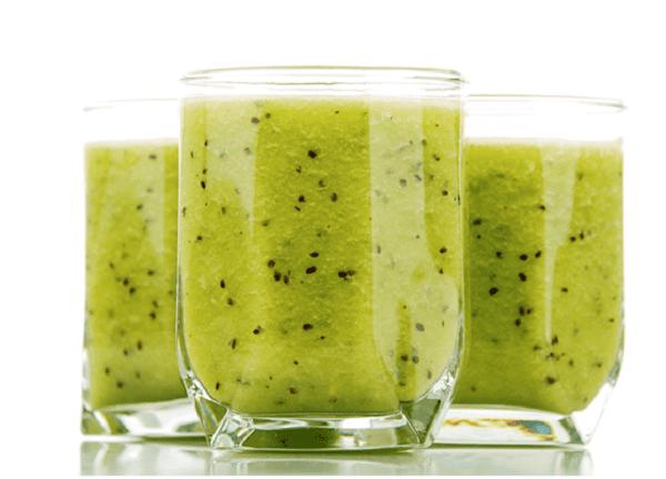 Способ приготовления напитка со шпинатом