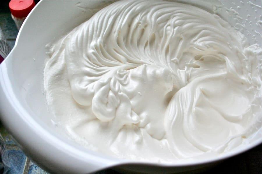 Крем из сливок для капкейков