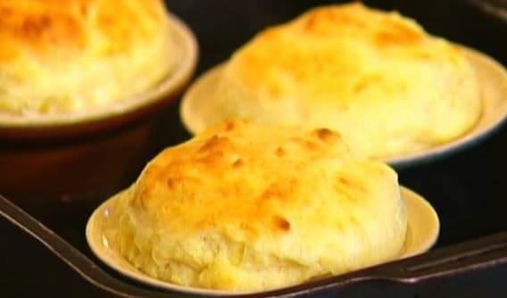Сырное суфле: авторский рецепт Юлии Высоцкой
