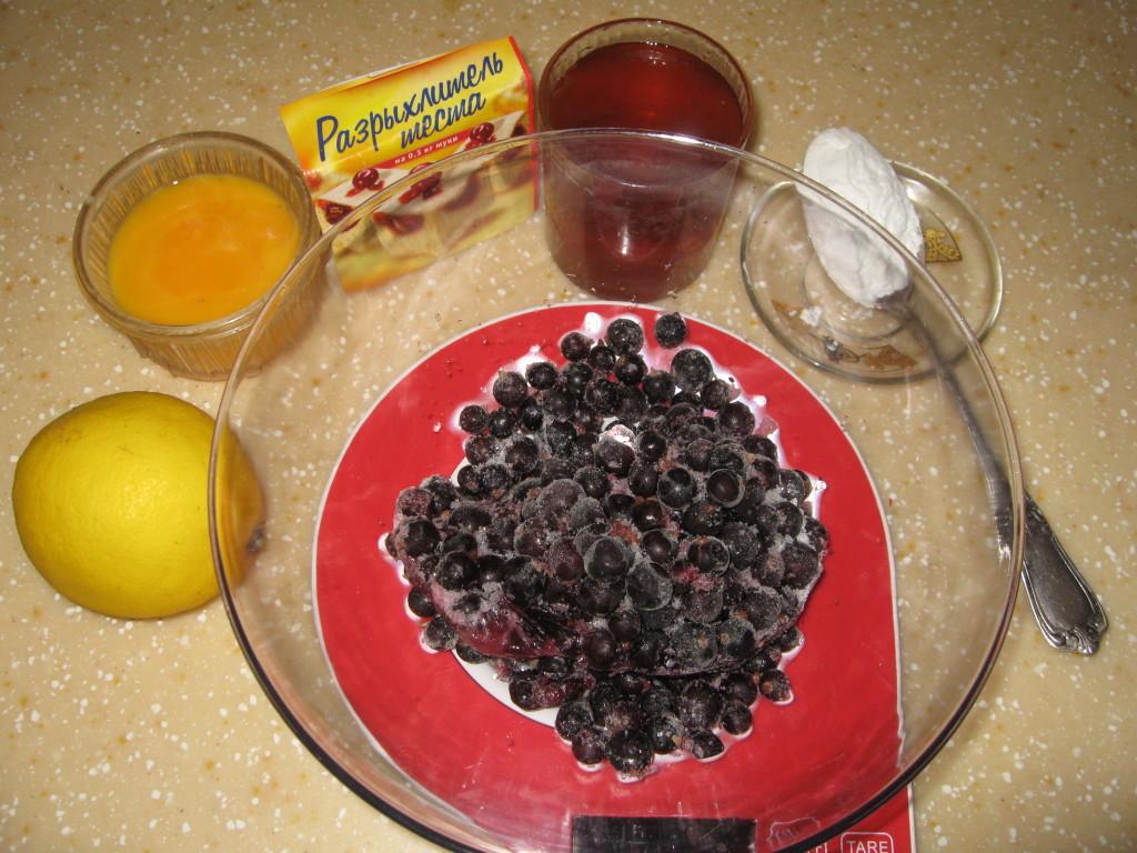 Ингредиенты для ягодного суфле