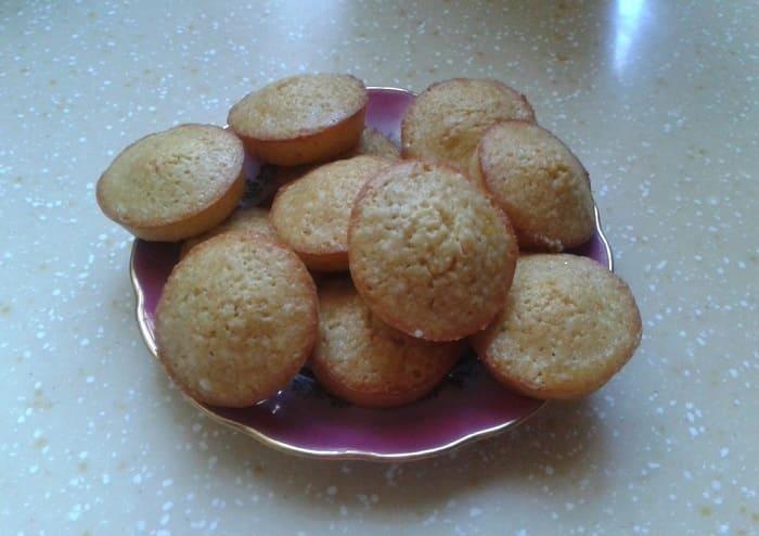 Кексы-малыши с мандариновым привкусом