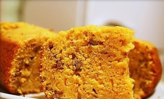 Бисквитный тыквенный пирог