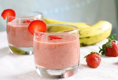 Бананово-клубничный смузи - 11 рецептов