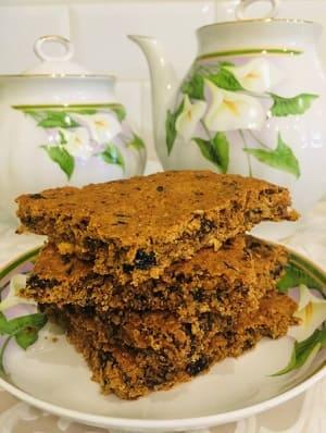 Рецепт овсяного печенья с черносливом