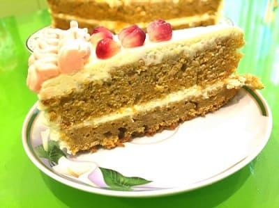 Классический морковный торт - рецепт с фото