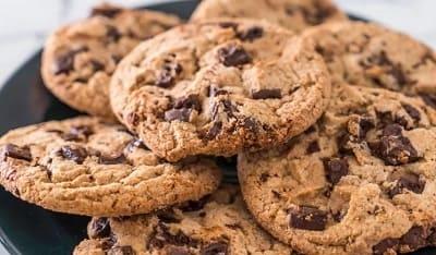 Печенье с шоколадной крошкой — 7 рецептов с фото