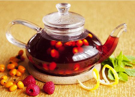 Облепиховый чай: 7 рецептов приготовления в домашних условиях