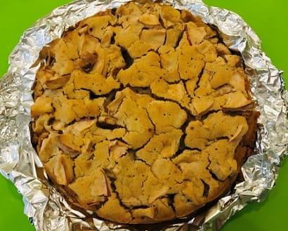 Яблочный пирог на аквафабе