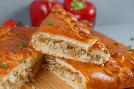 Пироги с капустой в духовке — 15 рецептов приготовления с фото