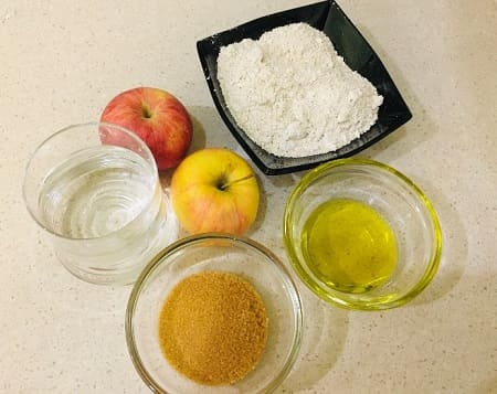 Постные яблочные вафли - рецепт приготовления