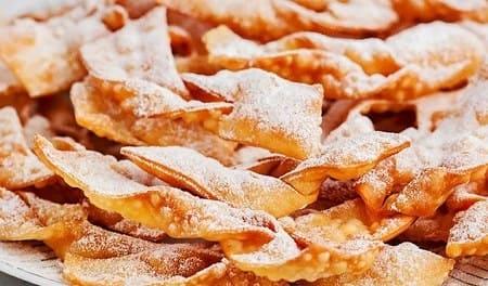 Классический хворост — 12 пошаговых рецептов хрустящего печенья
