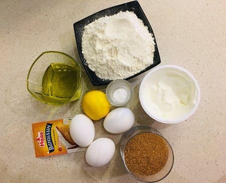 Лимонные маффины - рецепт приготовления
