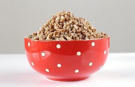Калорийность вареной гречки на 100 грамм