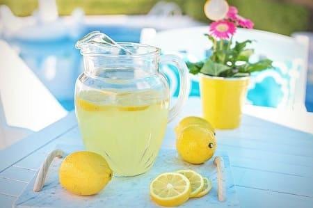 Домашний лимонад из лимонной кислоты — 2 рецепта