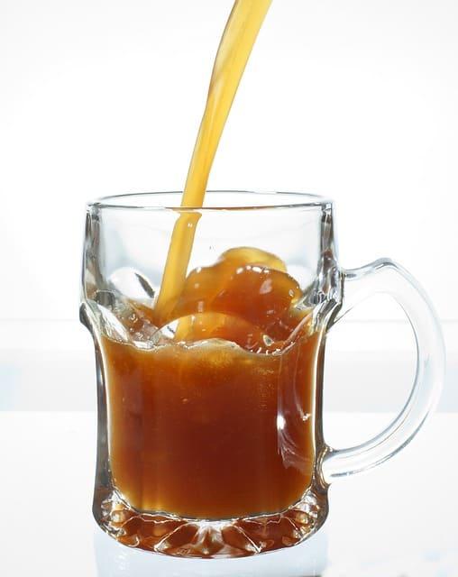 Квас из ферментированного ржаного солода